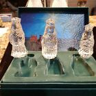 Box Set 3 Marquis Waterford Crystal Nativity Figures The Three Wise Men z1