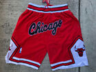 Chicago Bulls Red Mitchell  Ness Basketball Just Don Summer Throwback Shorts
