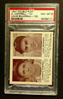 1941 Double Play Campbell Lou Boudreau (RC) Hall of Fame Rookie - PSA 8 NM-MT
