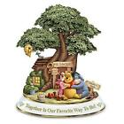 Disney WINNIE THE POOH Hundred Acre Wood Sculptures Together is Our Favorite Way
