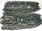 4 Pounds Assorted Shapes and Styles Black India Handmade Glass Beads GRP 13