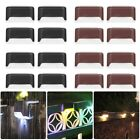 Solar Powered Deck Lights For Fence Patio Pool Stairs Step Pathway Lamps Outdoor