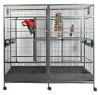 double parrot cage