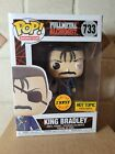 Funko Pop Animation 733 King Bradley Chase Hot Topic Exclusive In Soft Protector