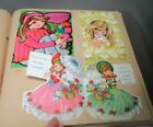 Vintage 1968 1977 Birthday Cards for Girl Scrapbook 53 pages approx 170+ cards