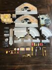 Mattel Hot Wheels World Grey Track Multiple Track Pieces Lot 55+ Pieces
