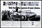 1969 Camaro SS RS convertible beauty queen photo Chevrolet Chevy vintage ad