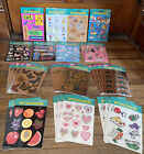 100 Sheets VINTAGE Forget Me Not American Greetings Stickers Sealed NEW
