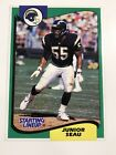 Junior Seau San Diego Chargers 1994 Kenner Starting Lineup Football Card