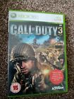 Call of Duty 3 COD Xbox 360 Game with manual