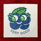 Vintage Matte CTP 1977 77 Scratch And Sniff Sticker Blueberry Strong Scent