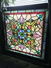 Victorian Stained Glass Window 117 Years Old