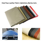 Marine Vinyl Upholstery Faux Leather Fabric Auto Boat Home Seat Replace Repair