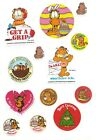 Vintage Garfield Sticker Collection Some Scratch and Sniff Trimmed Borders