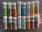 Lot of 16 Martha Stewart glitter and pearl craft paints 2 ounce bottles