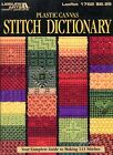 Stitch Dictionary 113 Stitches  5 Projects plastic canvas pattern book NEW