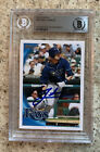 Auto 2010 Topps Opening Day Blue #192 B.J. Upton 2010 Autograph Tampa Bay Rays