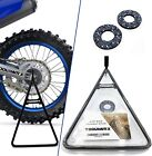 ToolWRX Motorcycle Dirt Bike Stand Universal Triangle A Stand Design Best