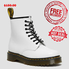NEW BOX Womens Bex Patent Leather Lace Up Boots
