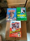 1988 & 1990 Donruss & 1991 Score Baseball Box All From Factory Sealed Cases NICE