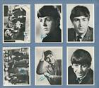 1964 BEATLES BLACK & WHITE CARDS LOT OF 38 - NICE !!!