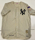 Mickey Mantle 1901 - 1951 Patch Wool Mitchell & Ness Yankees Home Jersey Size 48