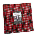 Moda Yuletide Gatherings Flannels Layer Cake Fabric 42 10 Quilting Squares Kit