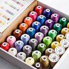 Simthread Brother 40 Colors 1100Y1000M Machine Embroidery Thread Big Spool