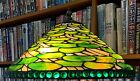 Antique Tiffany Studios Reproduction Lily Pad Leaded Glass Lamp Shade Handel