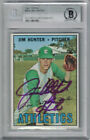 Catfish Hunter Cards, Rookie Card and Autographed Memorabilia Guide 22