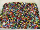 4 Pounds Assorted Color 6mm x 9mm Glass Pony Beads India Bulk Lot Sale NBW 5