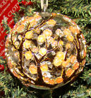 Blooming CHERRY BLOSSOM Cloisonne 1300D Enameled Glass Ornament
