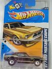 Hot Wheels Super Treasure Hunt 67 Ford Mustang Coupe W Protector