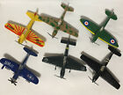 Zee Dyna Flites Military Airplanes Diecast 1982 Vintage Fighters Lot Of 6