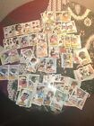 VINTAGE 1980s TOPPS FOOTBALL LOT OF (126) CARDS.CHECK IT OUT !
