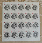 Vintage Rose 2015 Sheet of 20 Forever Stamps USA LOVE Red HEART RARE Scott 4959