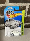 Hot Wheels Disney HERBIE THE LOVE BUG Extremely Rare Error Missing 53