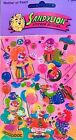 SUPER RARE Maxi PEARLY CLOWNS CLOWN Sandylion Stickers NEW IN PACKAGE