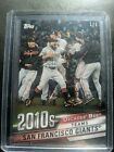 2020 Topps Transcendent VIP Party San Francisco Giants Decades Best 1 1 Posey