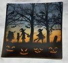 YANKEE CANDLE  TRICK or TREAT Candle JAR PLATE Halloween NEW Free Ship SpOOkY