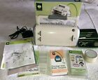 Cricut Personal Electronic Cutter CRV001 Provo Craft with 2 Cartridges  Manuals