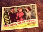GIRL NEXT DOOR 11X14 LOBBY CARD '53 JUNE HAVER