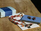 AVON 2003  CARNELIAN  COLOR  CHARM  DROP  GIFT  SET