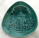 WINDSOR CASTLE Plate DISH ART POTTERY Eastgate UK Souvenir Green