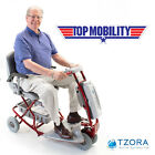 Tzora Classic Lexis Light Folding Travel Power Electric Folding Mobility Scooter