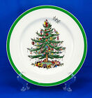 Spode CHRISTMAS TREE (GREEN TRIM) S3324 Dinner Plate 10.75 in. England Presents