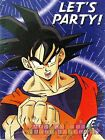 DRAGON BALL Z INVITATIONS 8 Anime Birthday Party Supplies Stationery Cards