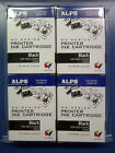 Alps MD Printer Ink Cartridge Black 4 Pack 106057 00 SALE