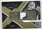 JAMES HARDY WINNING MATERIALS 2 COLOR ROOKIE PRIME JERSEY PATCH #01/50 BILLS #1