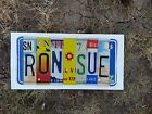 Low Price Embossed License Plate Letters Great Crafts Sign Most Colorful Variety